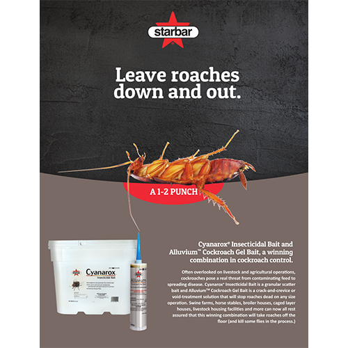 Cover of Alluvium Cockroach Gel Bait and Cyanarox Insecticidal Bait Fact Sheet