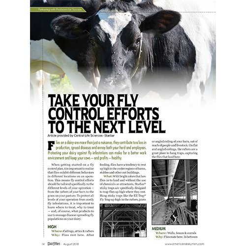 Cover of  American Dairyman magazine issue
