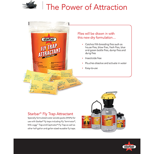 Starbar Fly Trap Attractant Sell Sheet